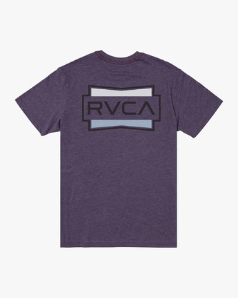 1 DEMO SHORT SLEEVE TEE  M4202RDE RVCA