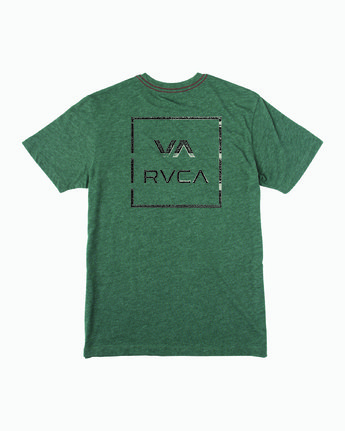1 INSIDE OUT SHORT SLEEVE T-SHIRT Multicolor M4203RIN RVCA