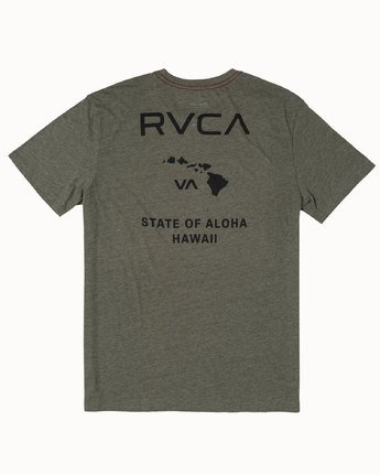 1 STATE OF ALOHA Multicolor M4203RSO RVCA