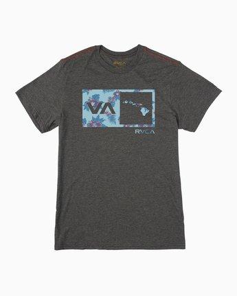 0 Floral Balance Box T-Shirt  M420PRFS RVCA