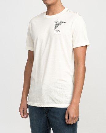 3 Living Conditions Ben Horton T-Shirt Yellow M420PRLI RVCA