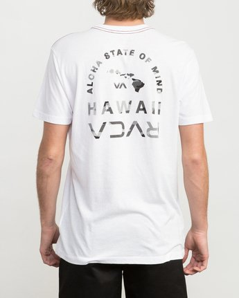3 Mind State T-Shirt White M420PRMS RVCA