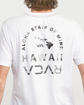 4 Mind State T-Shirt White M420PRMS RVCA