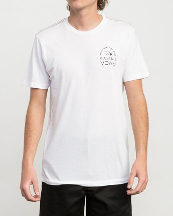 2 Mind State T-Shirt White M420PRMS RVCA