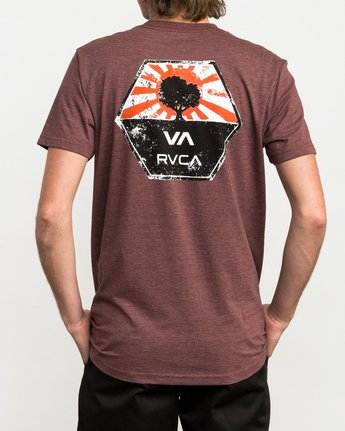 4 Bruce Irons T-Shirt Red M420QRBR RVCA