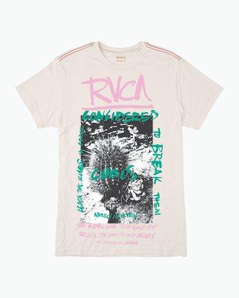 0 Chaos Cactus T-Shirt White M420QRCH RVCA