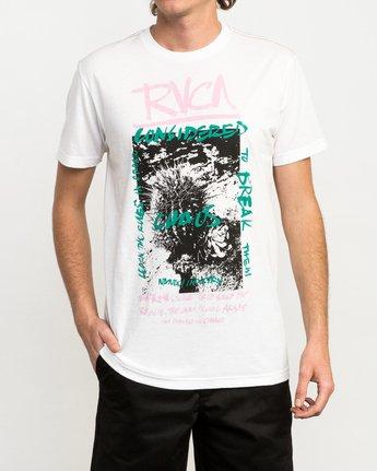 1 Chaos Cactus T-Shirt White M420QRCH RVCA
