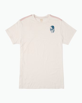 0 Francesco 4Heads T-Shirt White M420QRHE RVCA