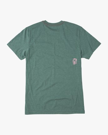 1 Francesco 4Heads T-Shirt Green M420QRHE RVCA