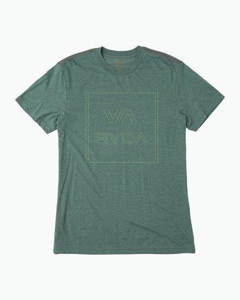 0 Pinner All The Way T-Shirt Green M420QRPI RVCA