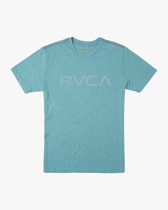 0 Big RVCA T-Shirt Blue M420SRBI RVCA