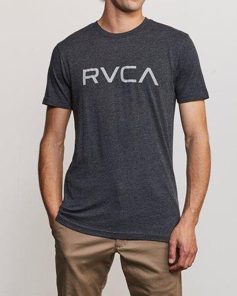 1 Big RVCA T-Shirt Black M420SRBI RVCA