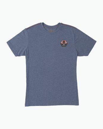 1 Bruce Irons T-Shirt Blue M420SRBR RVCA