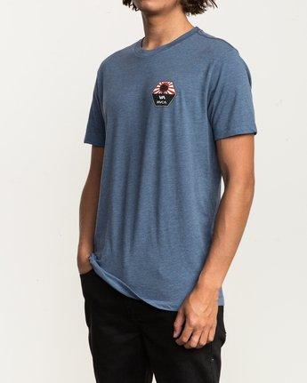 3 Bruce Irons T-Shirt Blue M420SRBR RVCA