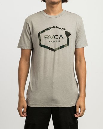 1 Island Hex T-Shirt Multicolor M420SRIS RVCA