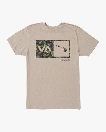 0 Squawker Islands Balance Box T-Shirt Multicolor M420SRSS RVCA