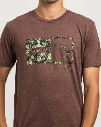 4 Squawker Islands Balance Box T-Shirt  M420SRSS RVCA