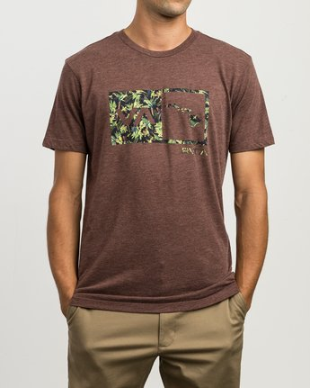 1 Squawker Islands Balance Box T-Shirt  M420SRSS RVCA