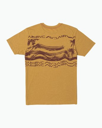 1 Warped Palm T-Shirt  M420SRWA RVCA