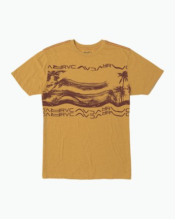 0 Warped Palm T-Shirt  M420SRWA RVCA