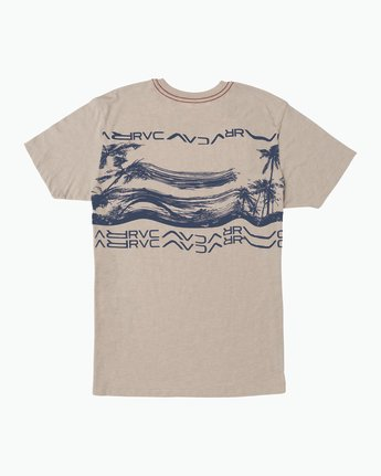 1 Warped Palm T-Shirt Multicolor M420SRWA RVCA