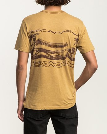 4 Warped Palm T-Shirt  M420SRWA RVCA