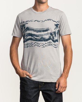 2 Warped Palm T-Shirt Multicolor M420SRWA RVCA