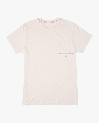 1 Eclipsed T-Shirt White M420TREC RVCA
