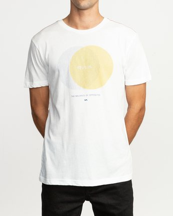 2 Eclipsed T-Shirt  M420TREC RVCA