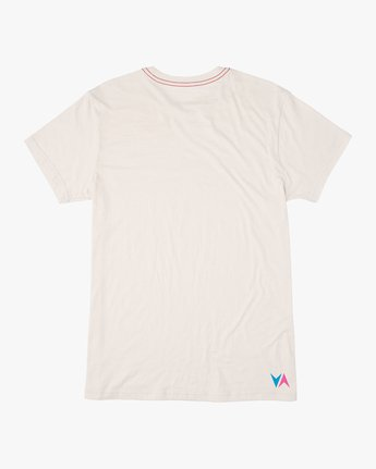 1 Kick Tail T-Shirt White M420TRKI RVCA