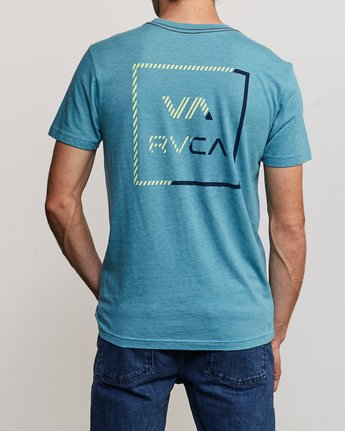 4 Segment T-Shirt Blue M420TRSE RVCA