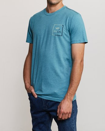 3 Segment T-Shirt Blue M420TRSE RVCA