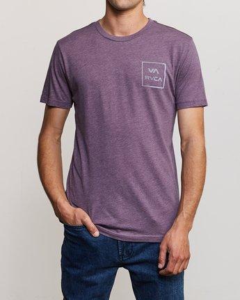 2 Segment T-Shirt Purple M420TRSE RVCA