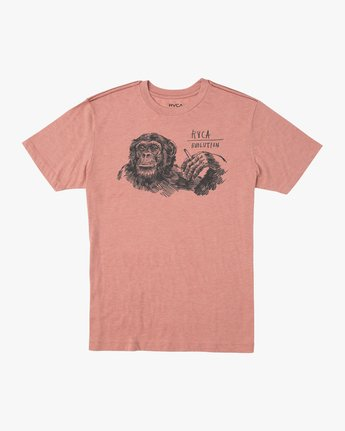 0 Ben Horton Smoker T-Shirt Brown M420TRSM RVCA