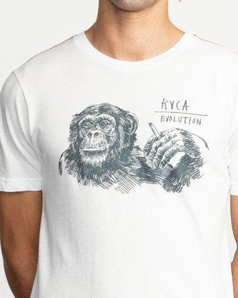5 Ben Horton Smoker T-Shirt White M420TRSM RVCA