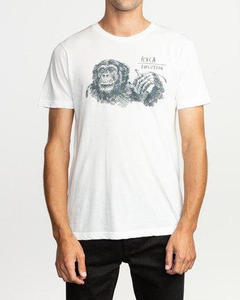2 Ben Horton Smoker T-Shirt White M420TRSM RVCA
