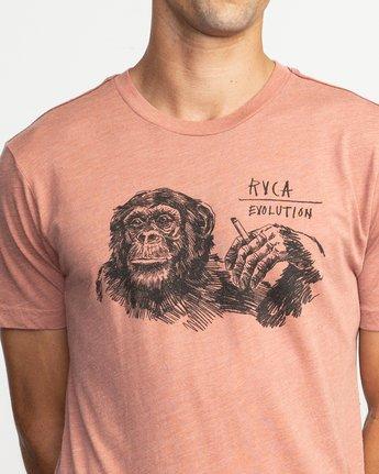 5 Ben Horton Smoker T-Shirt Brown M420TRSM RVCA