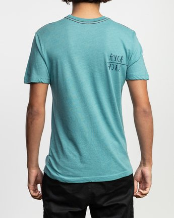 4 Ben Horton Smoker T-Shirt Blue M420TRSM RVCA