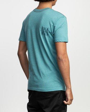 5 Ben Horton Smoker T-Shirt Blue M420TRSM RVCA