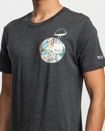 5 Sage Vaughn T-Shirt Black M420TRVA RVCA