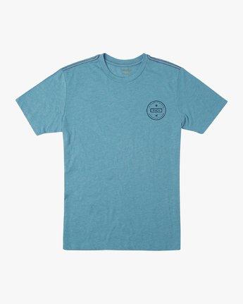 1 Induseal T-Shirt Blue M420URIN RVCA