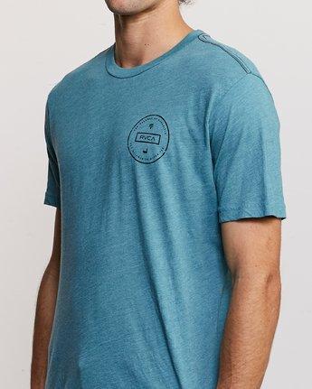 5 Induseal T-Shirt Blue M420URIN RVCA