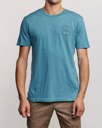2 Induseal T-Shirt Blue M420URIN RVCA
