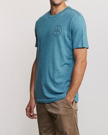 3 Induseal T-Shirt Blue M420URIN RVCA