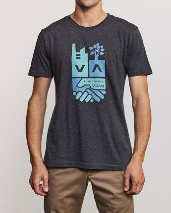 2 Partnered T-Shirt Black M420URPA RVCA