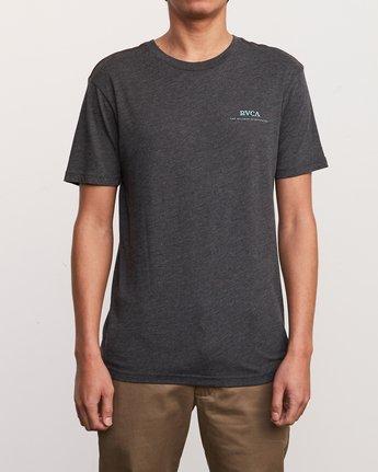 2 Mowgli Pitcher T-Shirt Black M420URPI RVCA