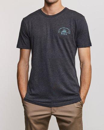 2 Risen T-Shirt Black M420URRI RVCA