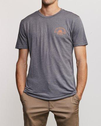 3 Risen T-Shirt Grey M420URRI RVCA