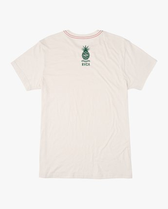1 Rising Pineapple T-Shirt White M420URRP RVCA