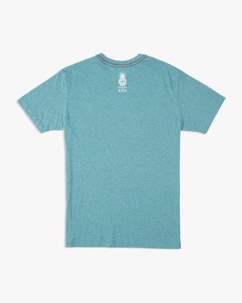 1 Rising Pineapple T-Shirt Blue M420URRP RVCA